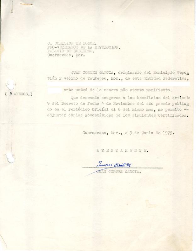 Solicitud a la Ley de Beneficios, Estímulos y Recompensas a los Veteranos de la Revolución del Estado de Morelos.pdf
