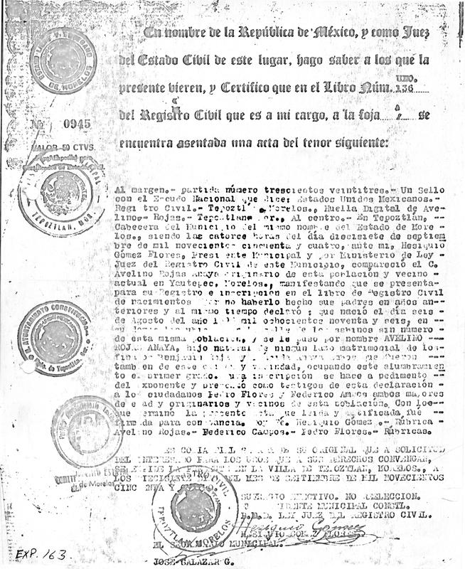 Certificación de Acta de Nacimiento.pdf