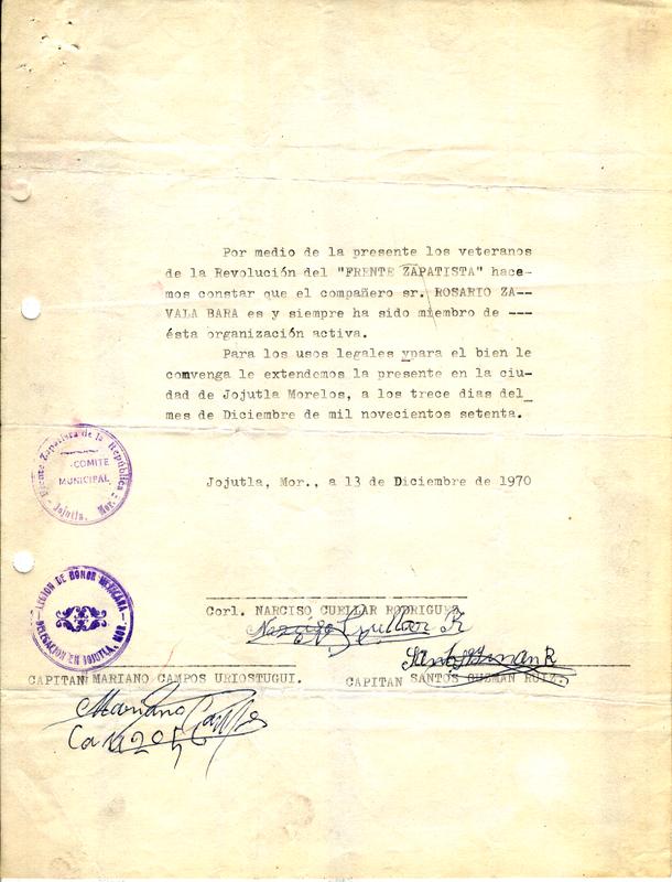 Certificado de membresía en el Frente Zapatista.pdf