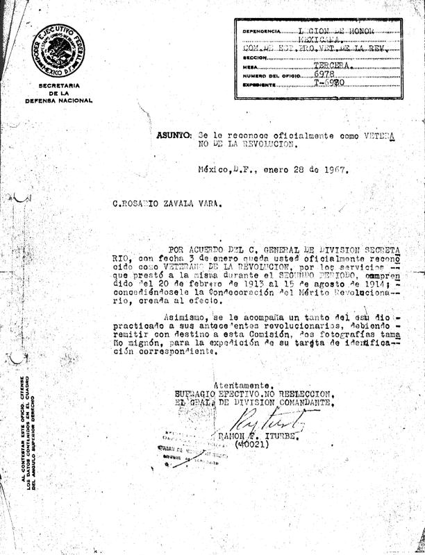 Oficio de Reconocimiento Oficial como Veterano de la Revolución.pdf