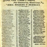 La toma de Zacatecas : por Villa, Urbina y Natera, por Ceniceros, Contreras, Raúl Madero y Herrera