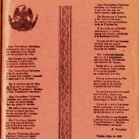 Corrido dedicado a D. Venustiano Carranza Primer Jefe de las fuerzas constitucionalistas